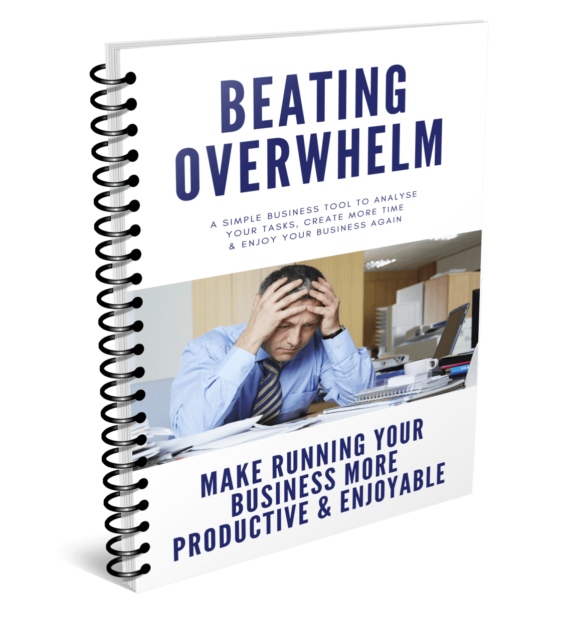 Beating Overwhelm Free Business Tool Cover