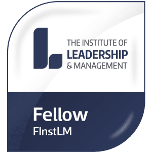 Fellow of The Institute of Leadership and Management - Andy Turnbull FInstLM